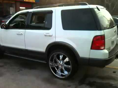 Ford Explorer On 24z Youtube