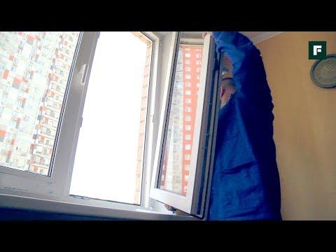 Установка пластикового окна в панельном доме. Монтаж подоконника и откосов // FORUMHOUSE