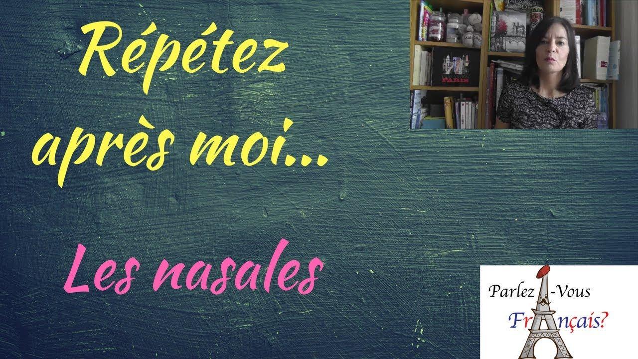 Exercices de prononciation en français Partie 2 - YouTube