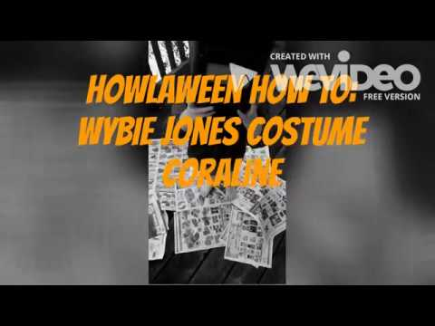 How To Make Wybie Lovat Mask From Coraline Youtube