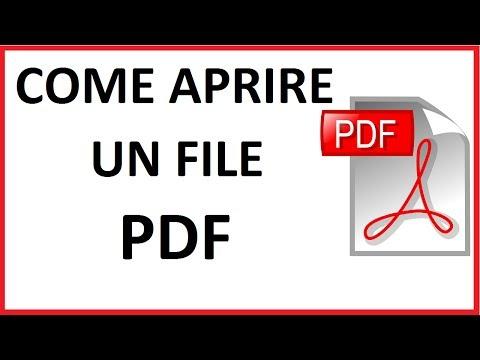 Come Aprire Un File Pdf Download Adobe Acrobat | Come Scaricare Programma Per Aprire Pdf