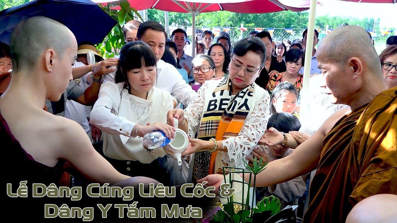 Lễ Dâng Cúng Liêu  Cốc & Dâng Y Tắm Mưa - Thiền Viện Nguyên Không