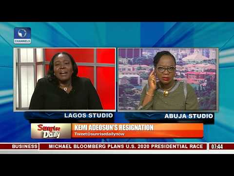 Adeosun's Resignation: 'It Was A Genuine Error' Marcus Bello Highlights Lessons Learnt Pt.2