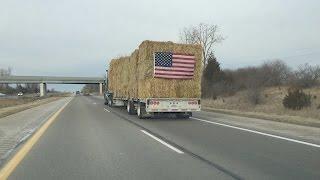 Michigan Hay to Fire Ravaged Texas and Kansas