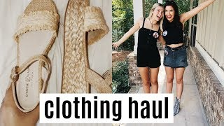 back to school try on haul!! | revolve, free people & urban