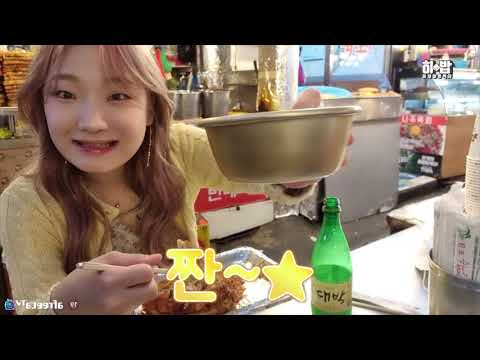"SUB) 종로 광장시장 털러온 히밥이 ""제가 다 먹어드릴게요"" 이모님들 반응잌ㅋㅋㅋㅋ korean mukbang eating show 히밥"