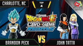 Dragon Ball Super Card Game Gameplay [DBS TCG] Charlotte Regional Top 4