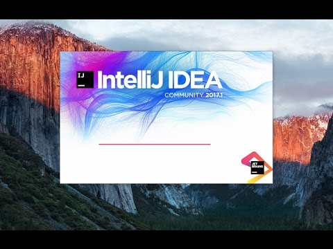 How to Install Intellij IDEA  on Mac OS X + Creating First Hello World Java Application