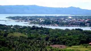 360 view of dauis panglao island above bohol plaza at dayo hill