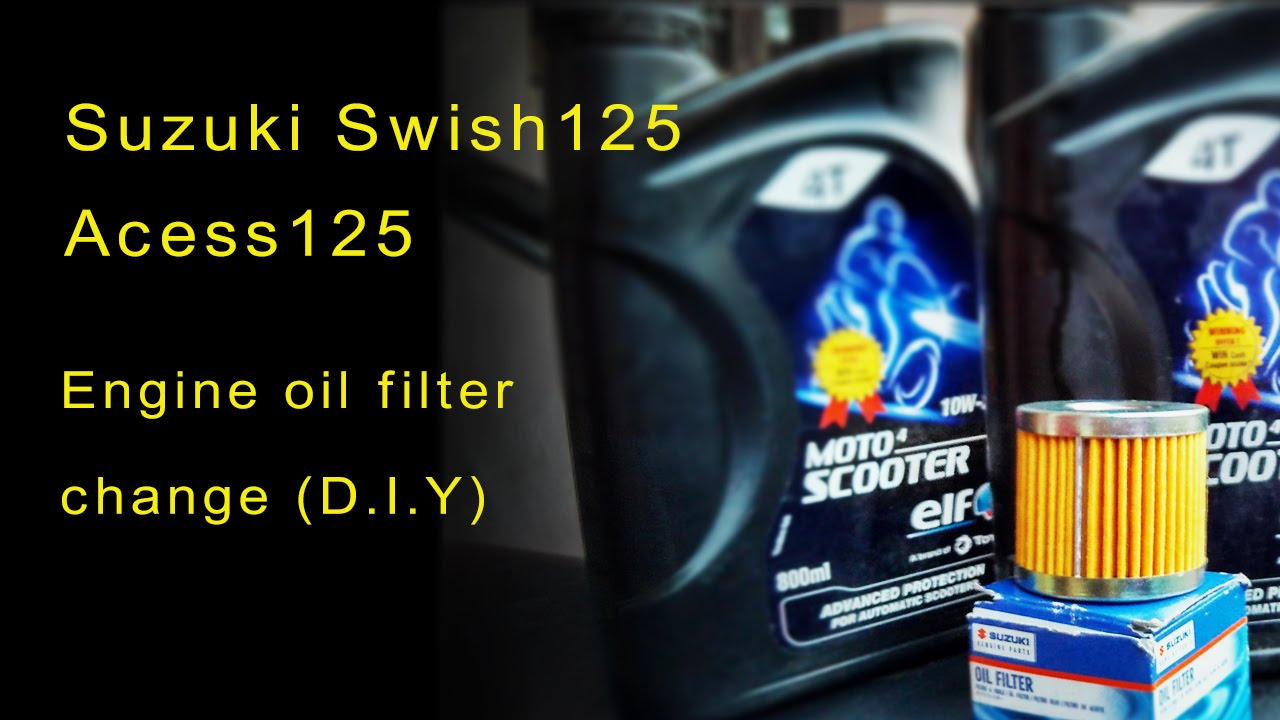 Suzuki Access Manual 20082012 Chevy Malibu Reese Tconnector Wiring Harness 78066 Tu250x Maintenance Oil Change Filter Instructions Array Swish125 Access125 Engine D I Y Youtube Rh