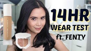 WORTH THE HYPE? FENTY BEAUTY Review + 14HR Wear Test | Anna Cay ♥ Video
