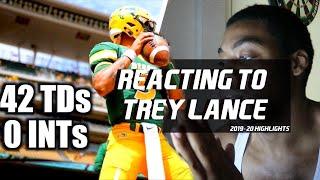 Reacting to Trey Lance Highlights |The BEST QB You've NEVER Heard Of 🔥🔥🔥 || NDSU QB ᴴᴰ