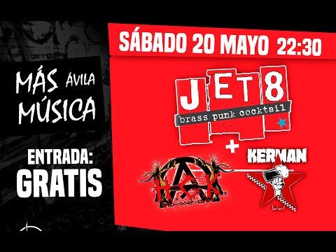 JET8 + KERMAN + H.C.K en Más Música Ávila