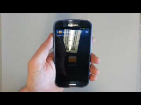 Установить персональный рингтон мелодию на Samsung Galaxy S3