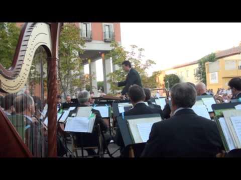 CONCIERTO DE LA BANDA SINFÓNICA MUNICIPAL DE MADRID EN LEGANÉS, HOMENAJE A MANUEL RODRÍGUEZ SALES
