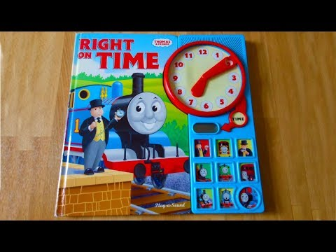 Thomas the Tank Engine: Right on Time (Interactive Sound book)