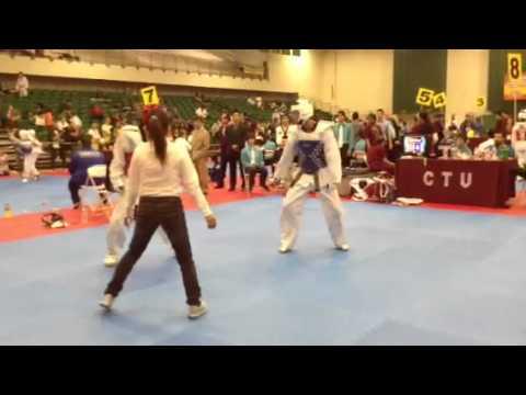 Cal poly Pomona 2014 fight 1