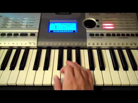 How to Play Mirror By Lil Wayne Feat. Bruno Mars on Piano