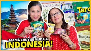 MAMA CHUY SE MUDA A INDONESIA?! | PROBANDO DULCES