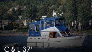 Used 1980 C & L 36 Puget Trawler For Sale In Portland, Oregon