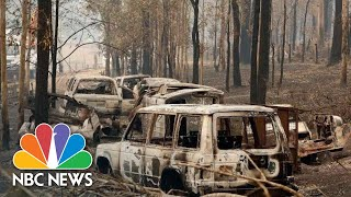 Tearful Residents Survey Fire Damage As Australia Warns Of Catastrophic Threat | NBC News