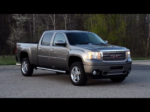 2012 gmc sierra denali 2500hd 4wd crew cab winding road quick drive youtube. Black Bedroom Furniture Sets. Home Design Ideas