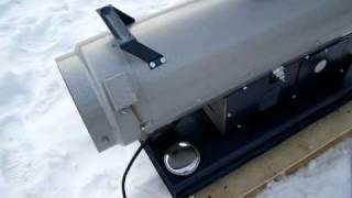 Sirokko Dieselheizung Typ 266.02 Probelauf nach Neuaufbau