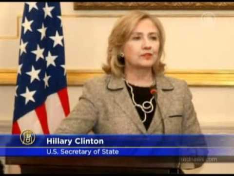 BREAKING NEWS!!! Hillary Clinton Meets Egyptian Foreign Minister Nabil Elaraby 2011-03-16