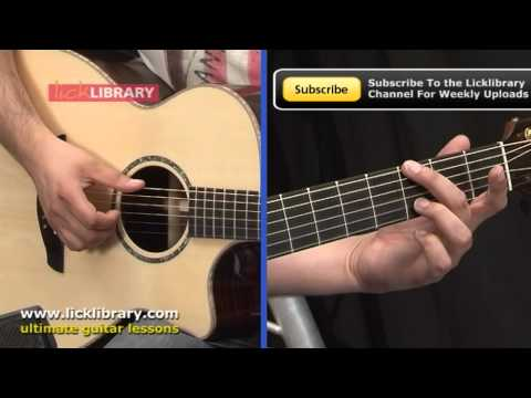 How To Play Why Georgia John Mayer - Acoustic Guitar Lesson With Tom Quayle Licklibrary