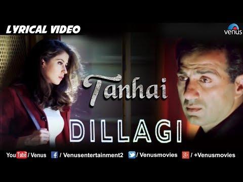 Tanhai- Saaya Bhi Saath - LYRICAL VIDEO| Dillagi | Sunny Deol & Urmila Matondkar |Bollywood Sad Song