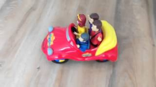 Wiggles Big red car toy bump and go