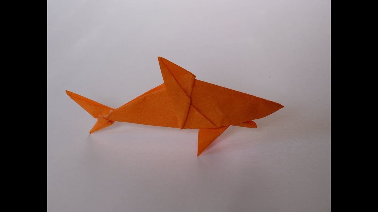how to make scott s origami shark mano of  how to make scott s origami shark mano 1 of 2