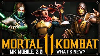 MKX Mobile Can't Be Hacked Anymore!? | Mortal Kombat 11 Mobile 2.0 Update