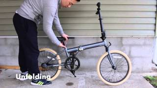 Retrospec Bicycles Speck Folding Single-Speed Bicycle - How to Fold and Unfold
