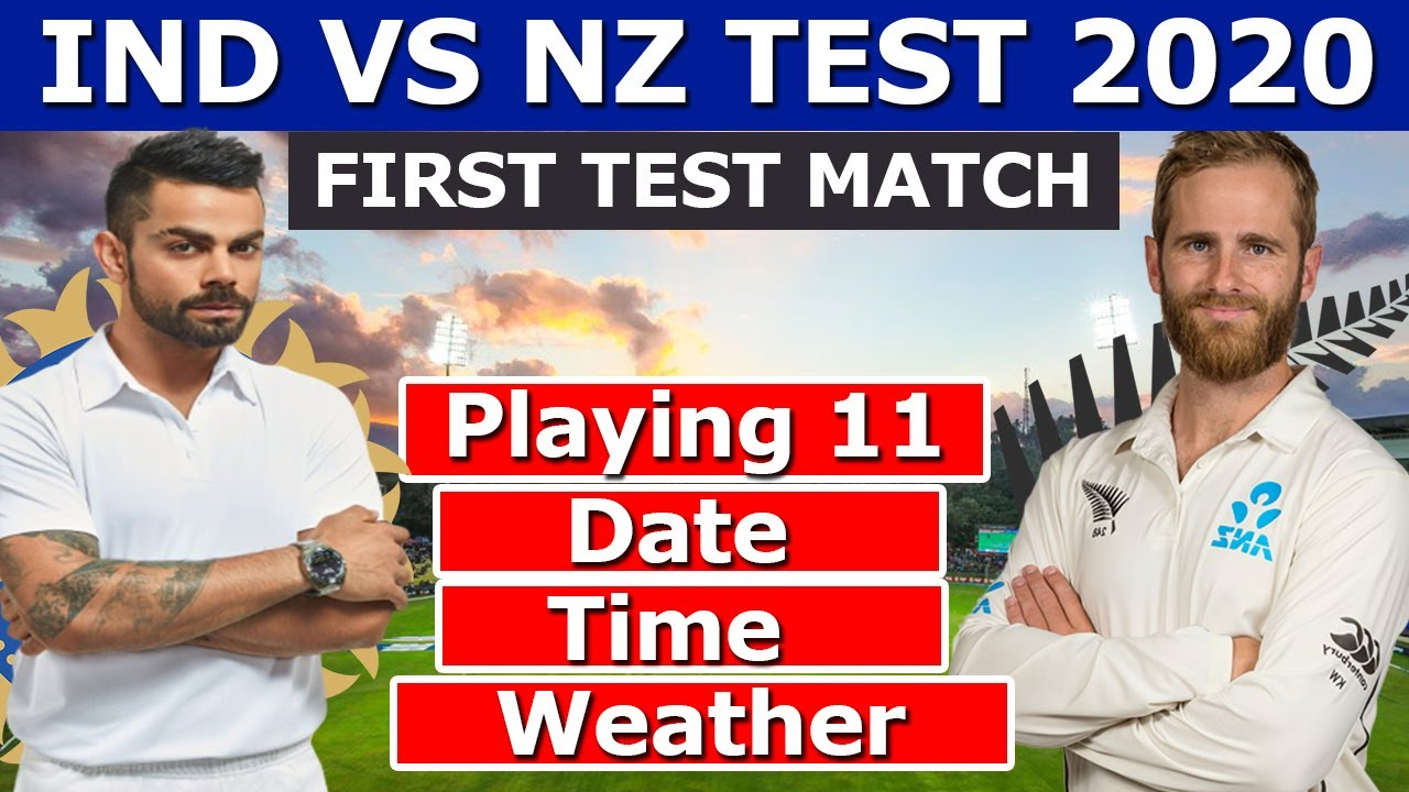 India vs New Zealand Live Score 1st Test Day 1: Rain in Wellington ...