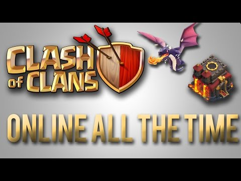 Clash Of Clans - How To Stay ONLINE All The Time! [WORKS!!!]