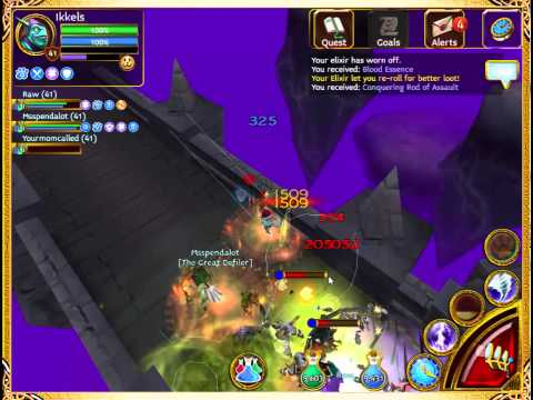 Arcane Legends - Planar Tombs (Level 3) AWESOME LOOT