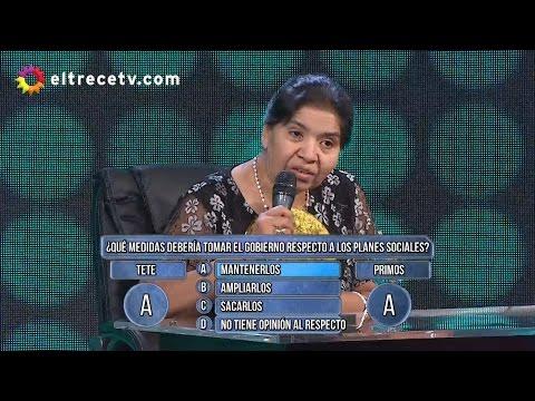 ¿Qué opina Margarita Barrientos de los planes sociales?