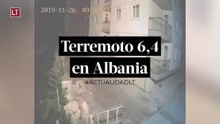 Terremoto 6,4 en Albania deja al menos nueve muertos