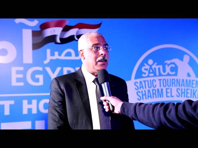 2016 SATUC Tournament, Gamal Allam's speech ( ساتوك - Sheikha Al-Thani)
