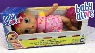 Reviewing BRAND NEW Baby Alive SWEET N SNUGGLY BABY Doll From Target