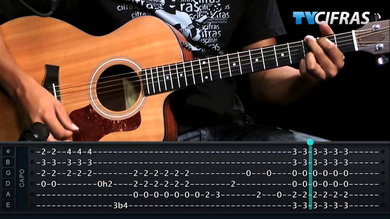 Raul Seixas - Tente Outra Vez (aula de violão)