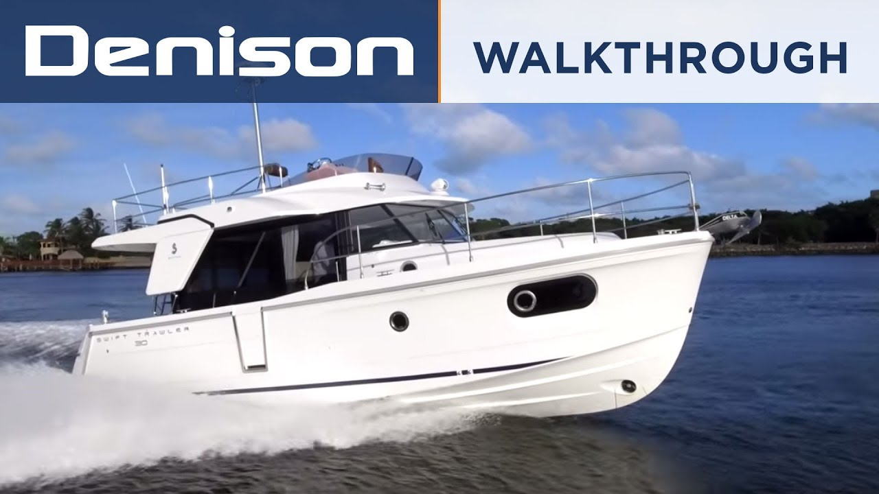Beneteau 30 Swift Trawler 30ST Walkthrough YouTube