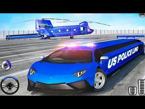 US Police Limo Car Transporter Game | New Car Driving Games | Android GamePlay