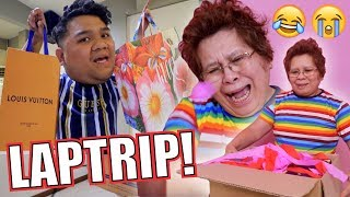 GUCCI & LOUIS VUITTON PRANK ON MY MOM (NAGKAIYAKAN BES!!)