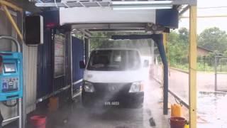 Touchless Car Wash Machine - Malaysia