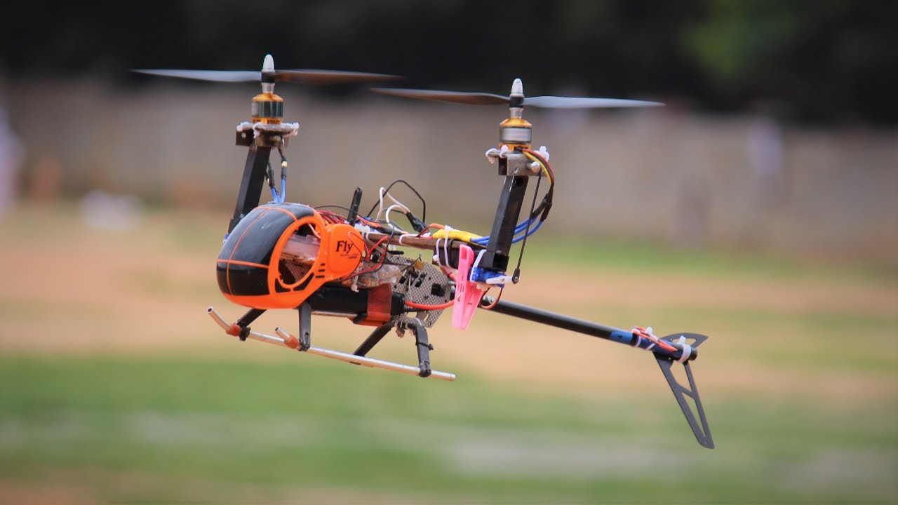 Download How to make a flying HELICOPTER - Homemade helicopter