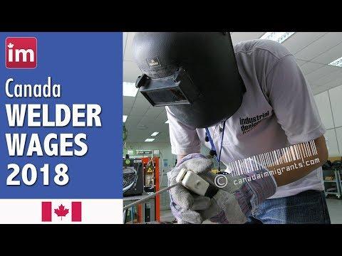 Welder Salary in Canada | Jobs in Canada (2017)