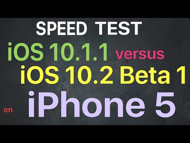 Comparison: iOS 10 2 Beta vs  iOS 10 1 1 vs  10 1