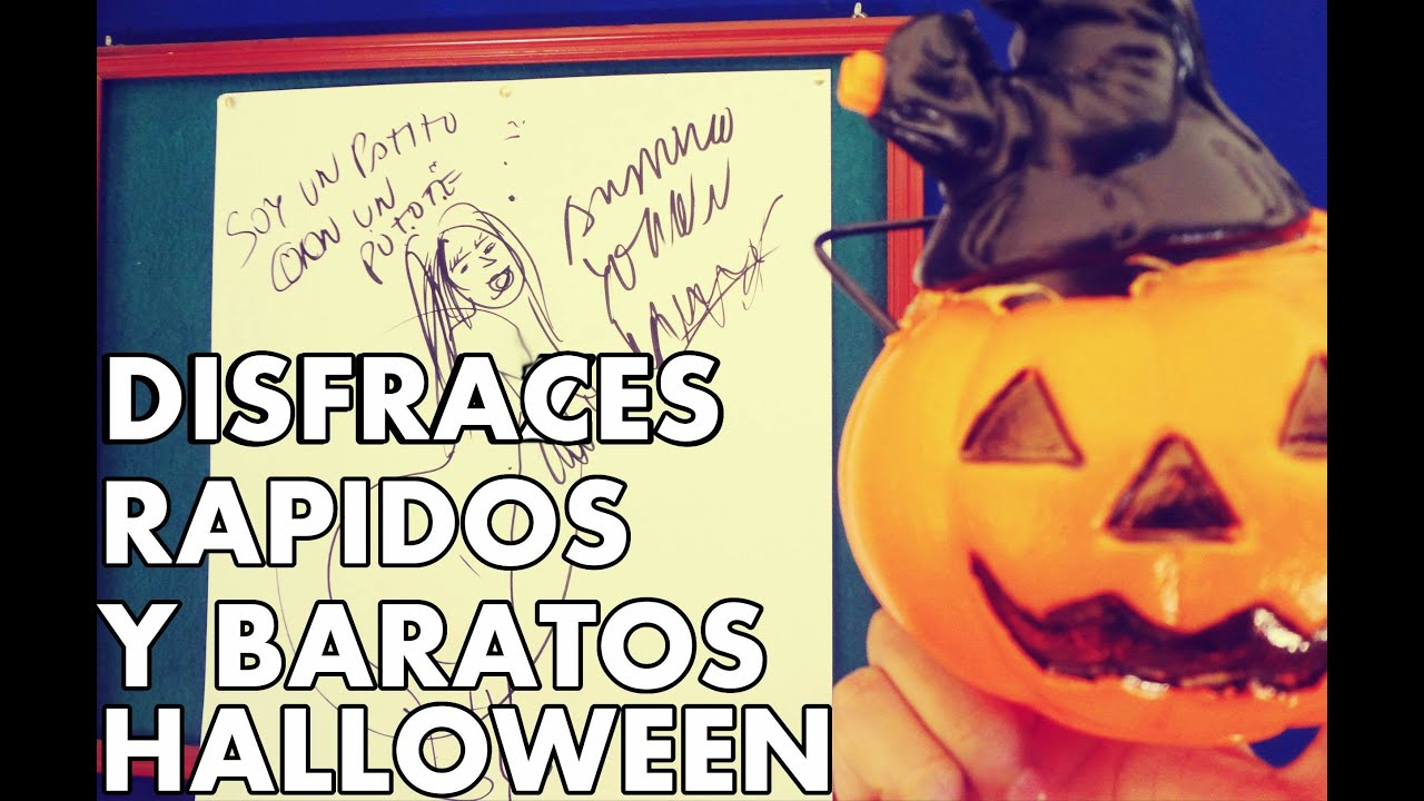 Disfraces rapidos y sencillos para halloween brunoacme - Platos rapidos y sencillos ...